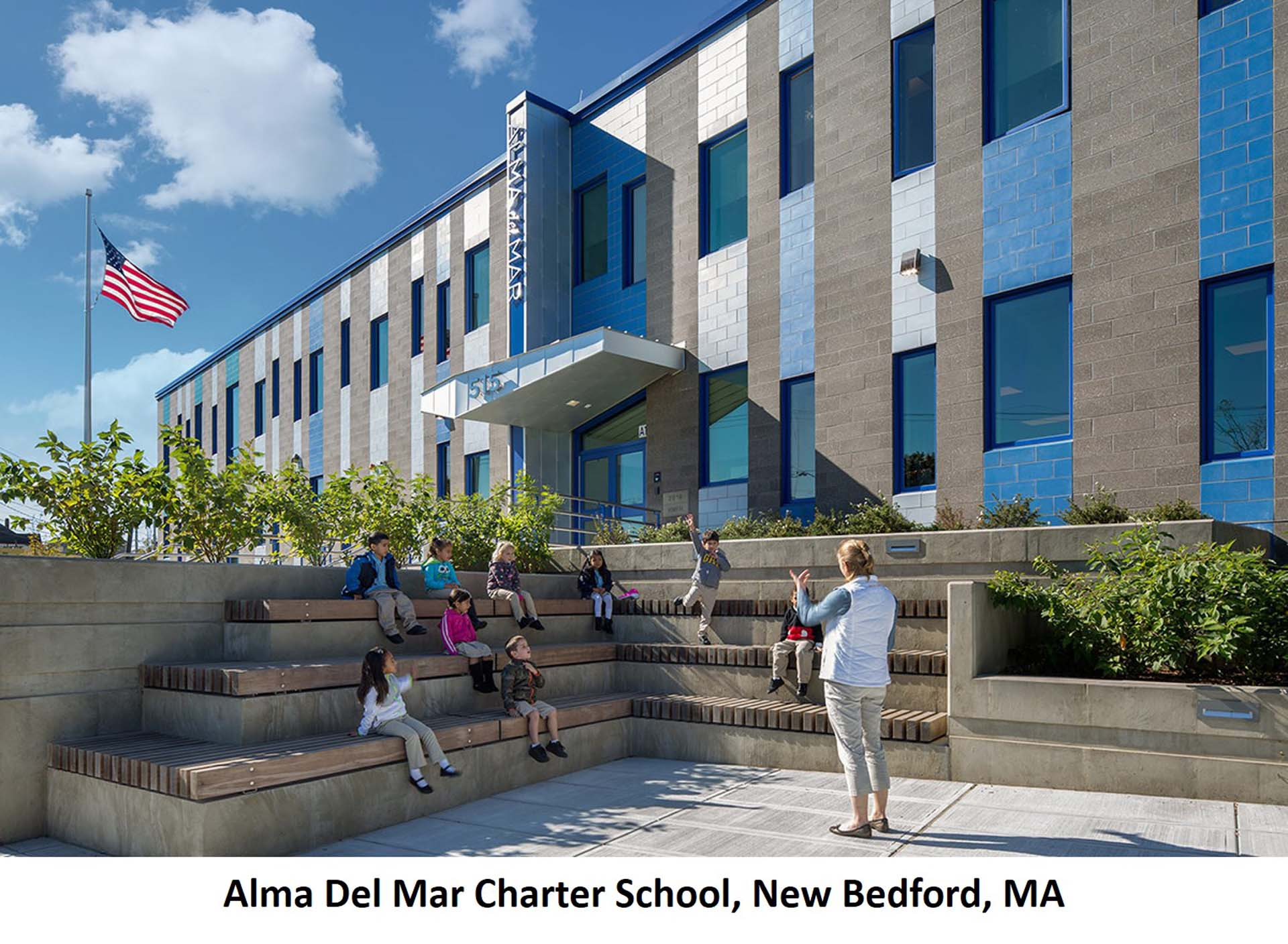 Alma Del Mar Charter School New Bedford MA