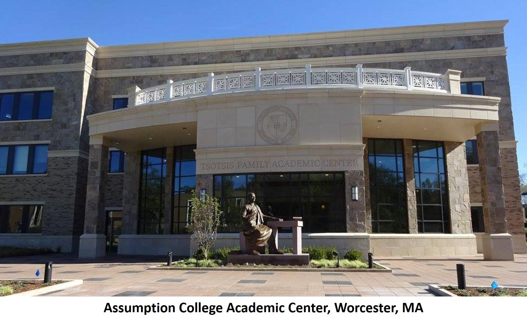 Assumption College Academic Center Worcester MA