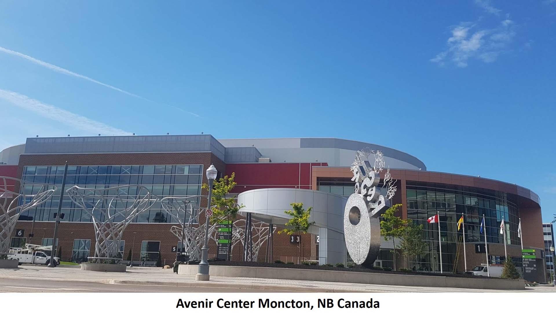 Avenir Center Moncton NB Canada