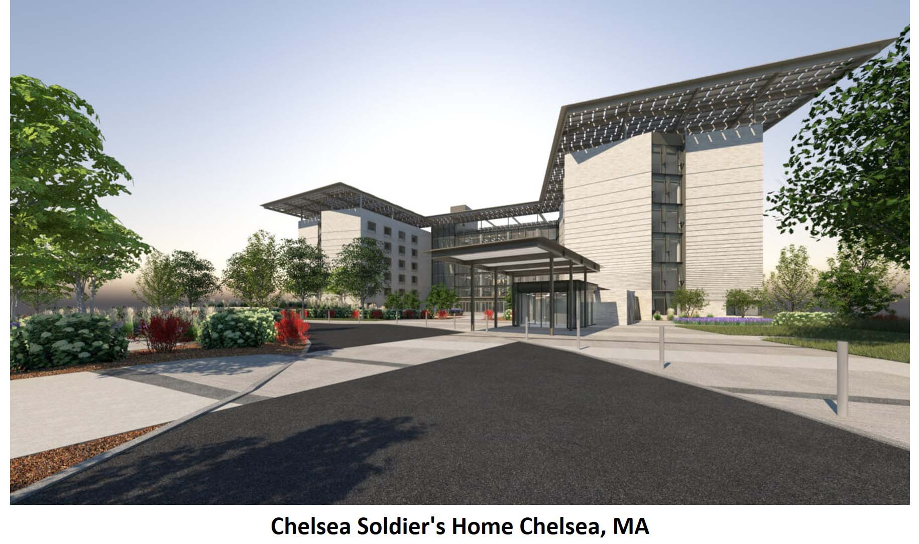 Chelsea Soldiers Home Chelsea MA 1