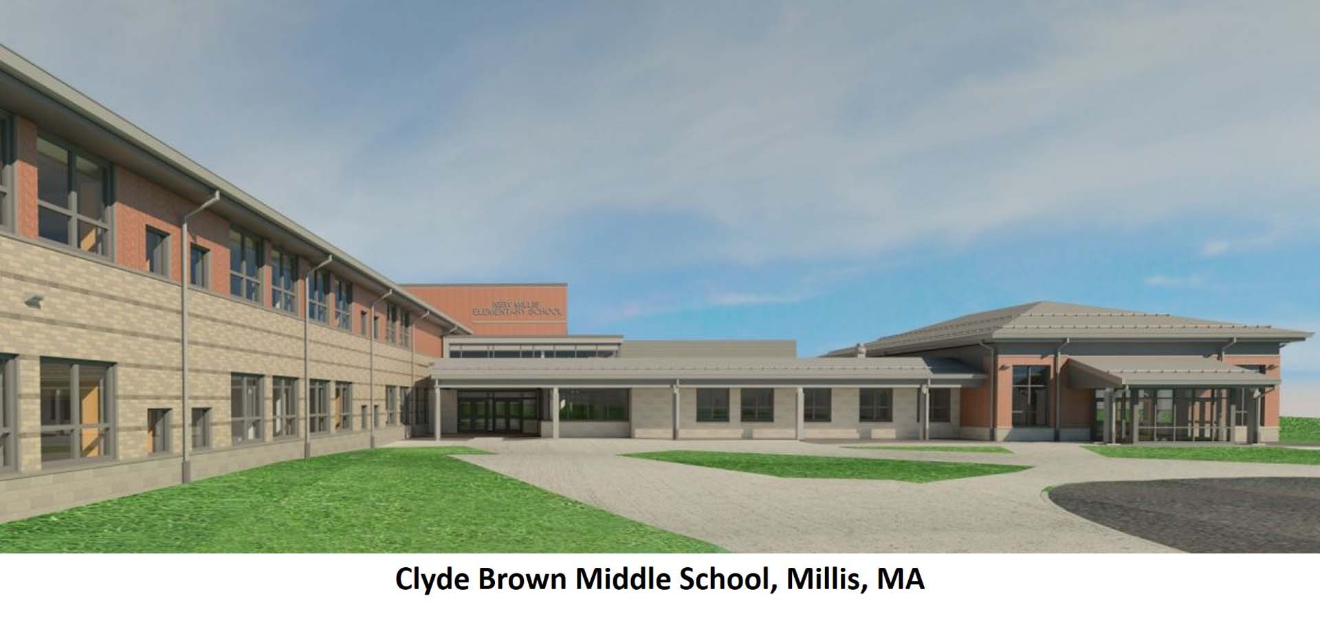 Clyde Brown Middle School Millis MA
