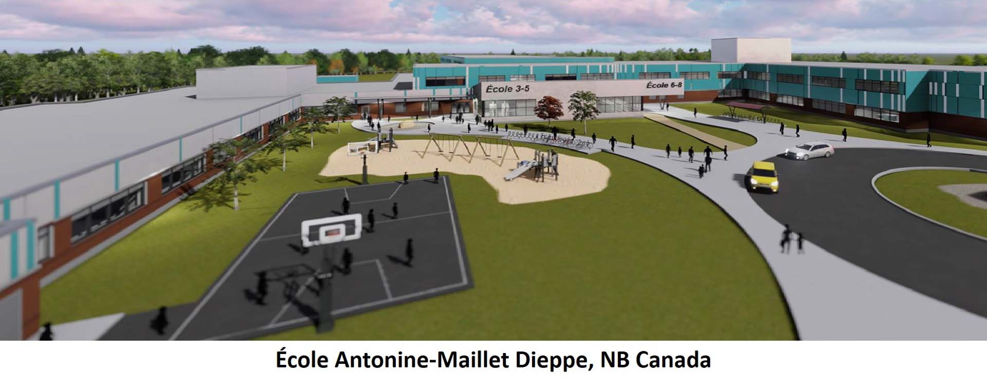 École Antonine Maillet Dieppe NB Canada