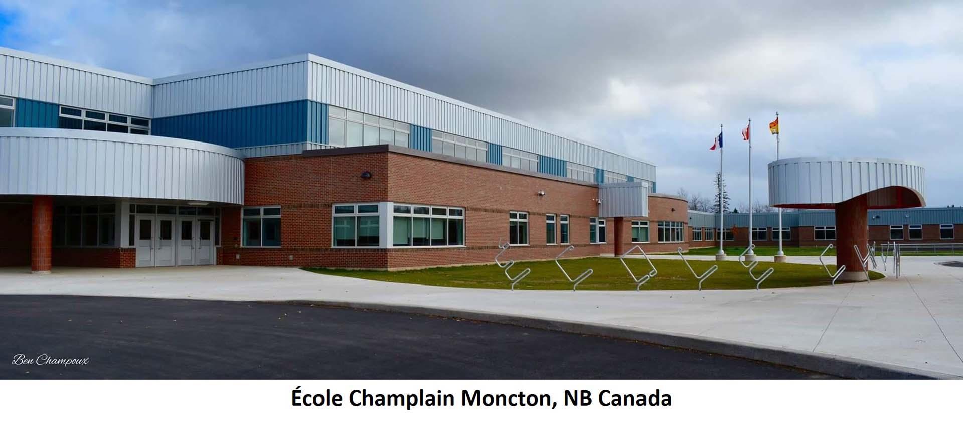 École Champlain Moncton NB Canada