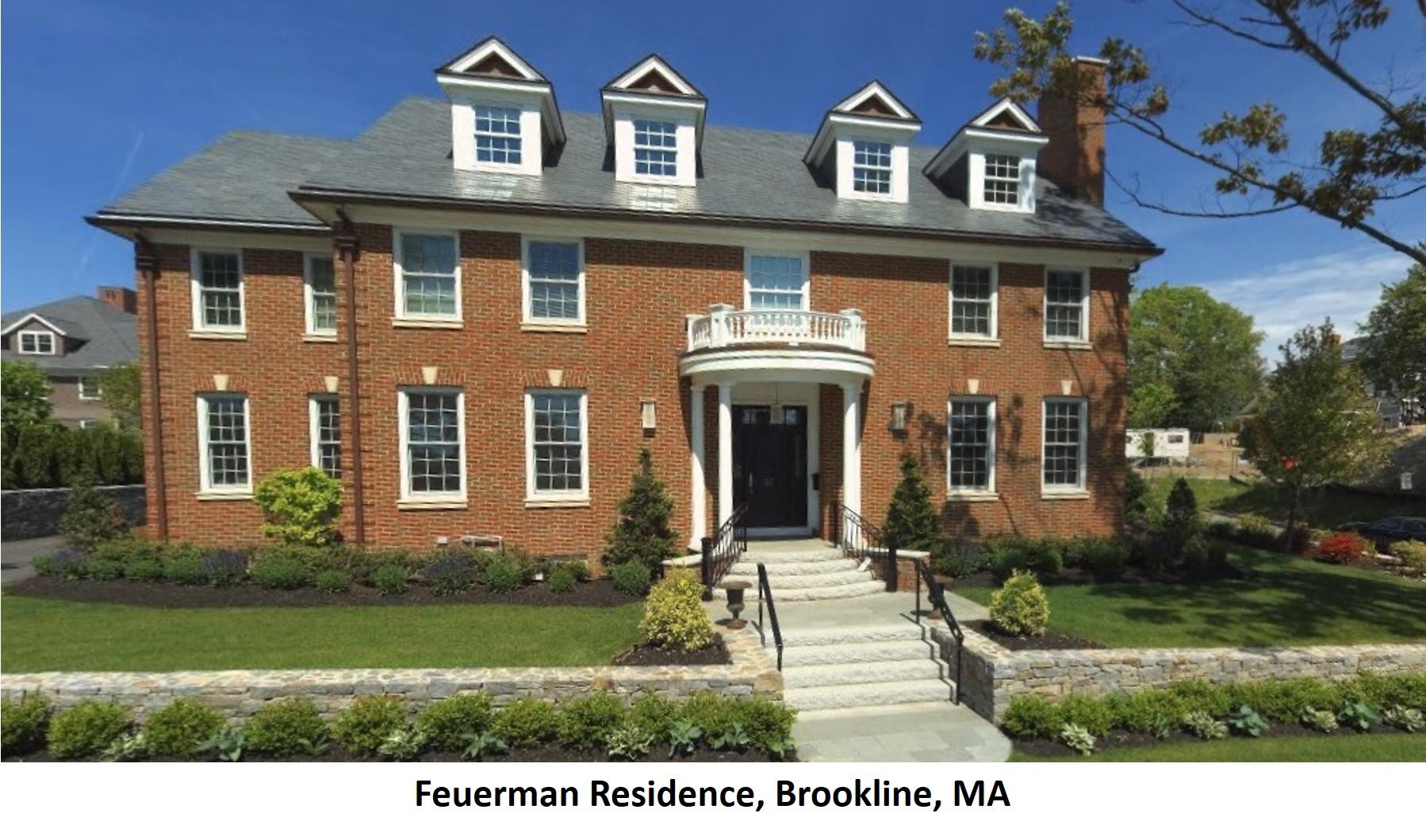Feuerman Residence Brookline MA