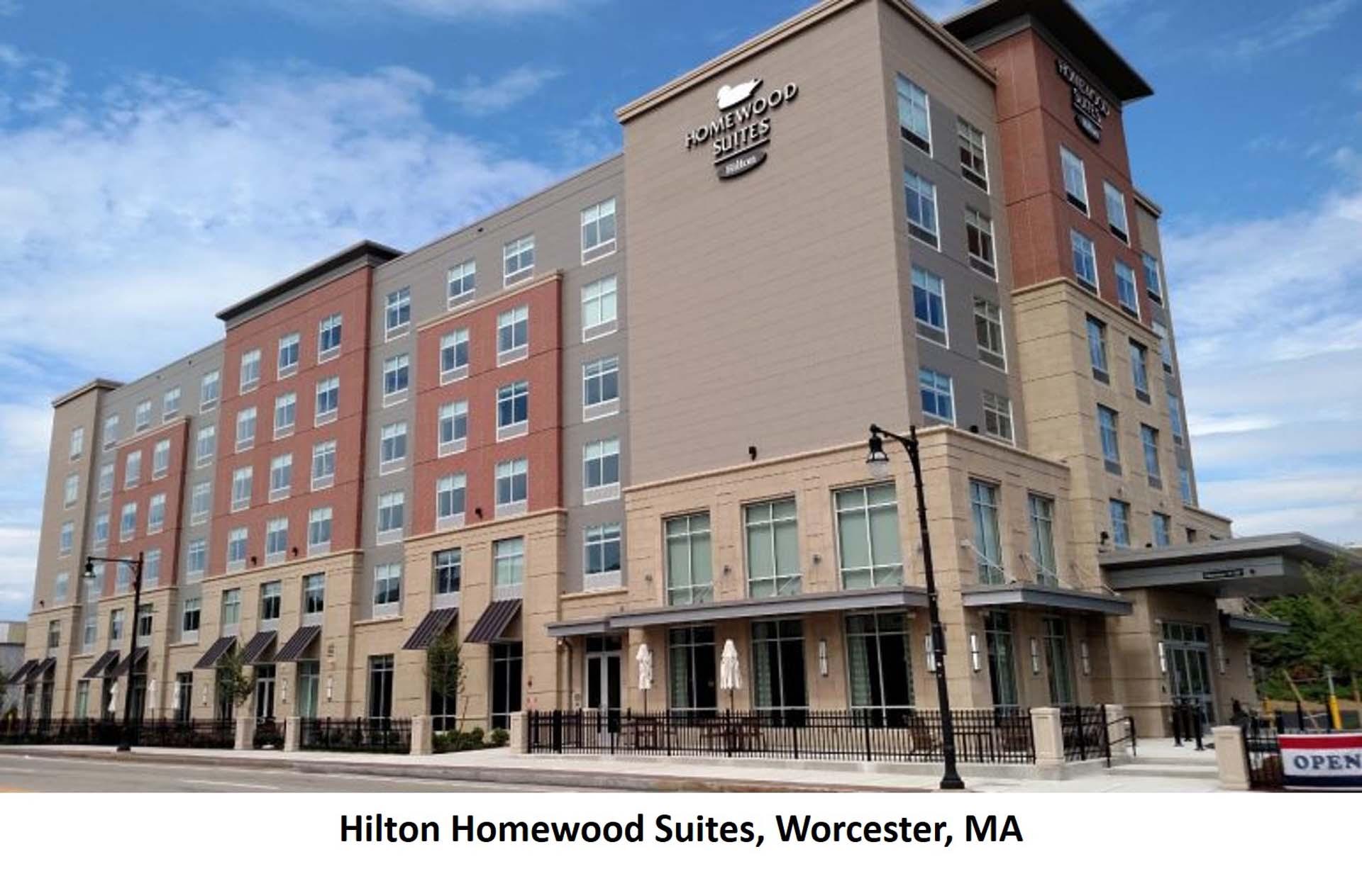 Hilton Homewood Suites Worcester MA