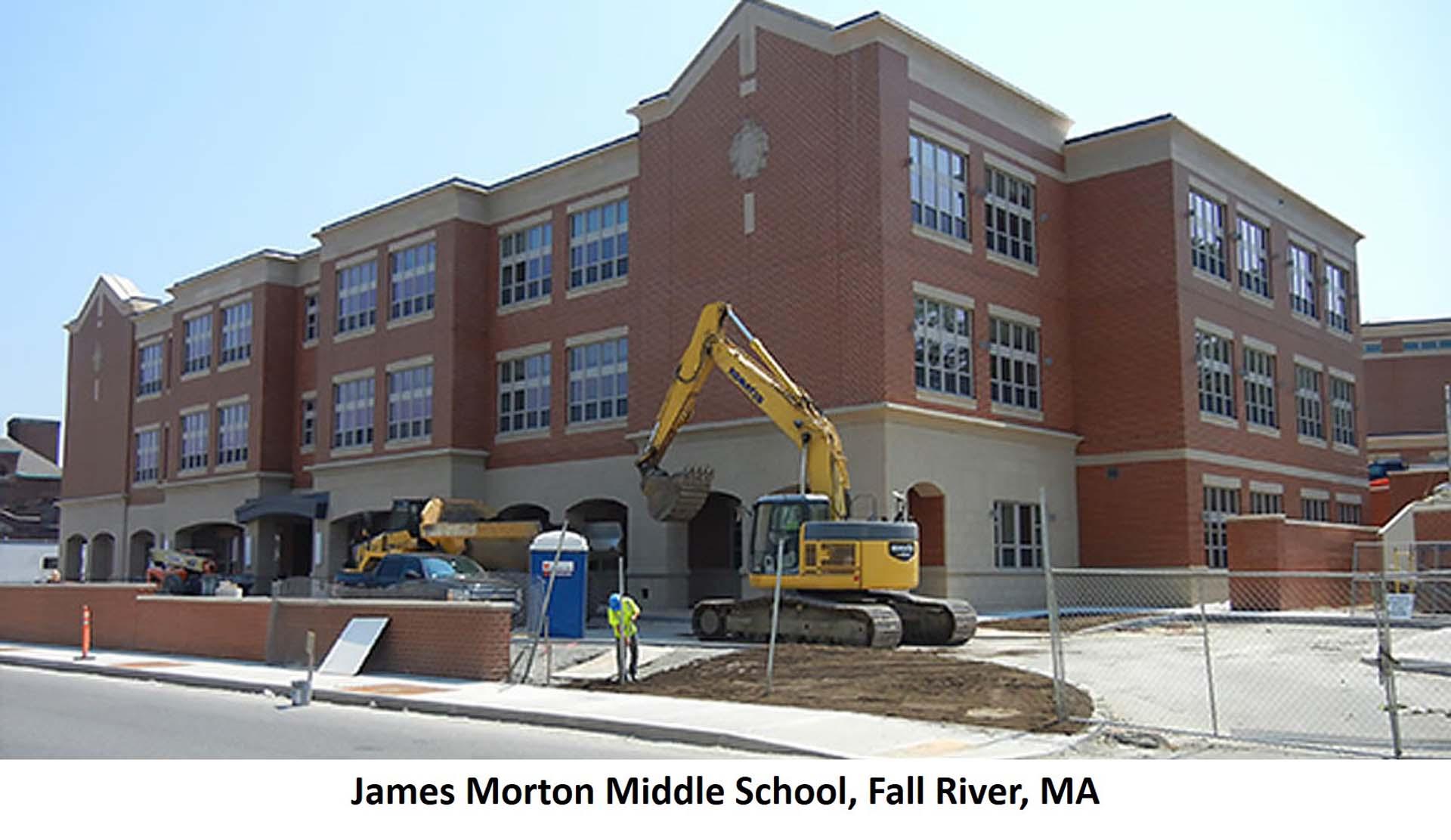 James Morton Middle School Fall River MA