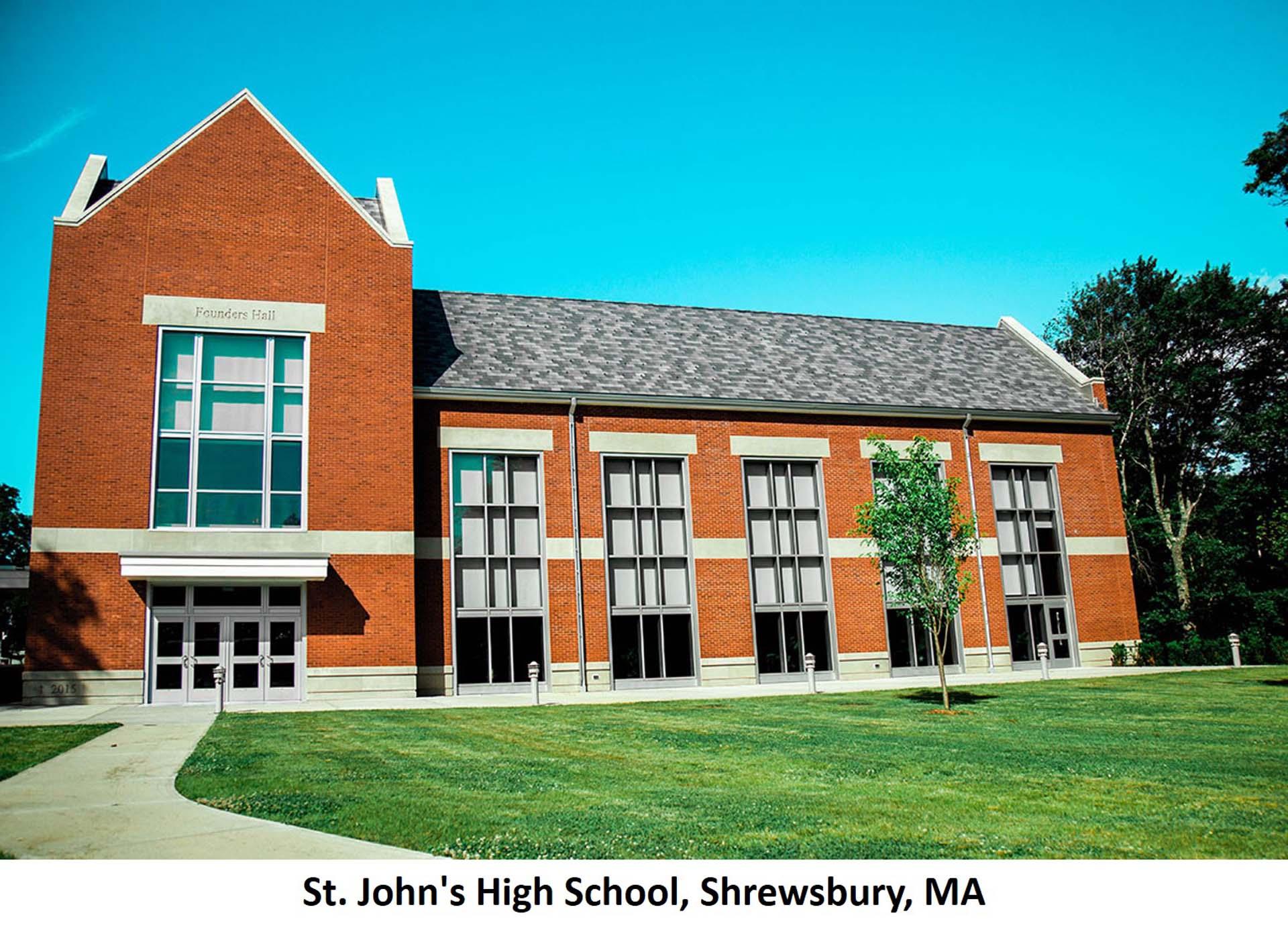 St. Johns High School Shrewsbury MA