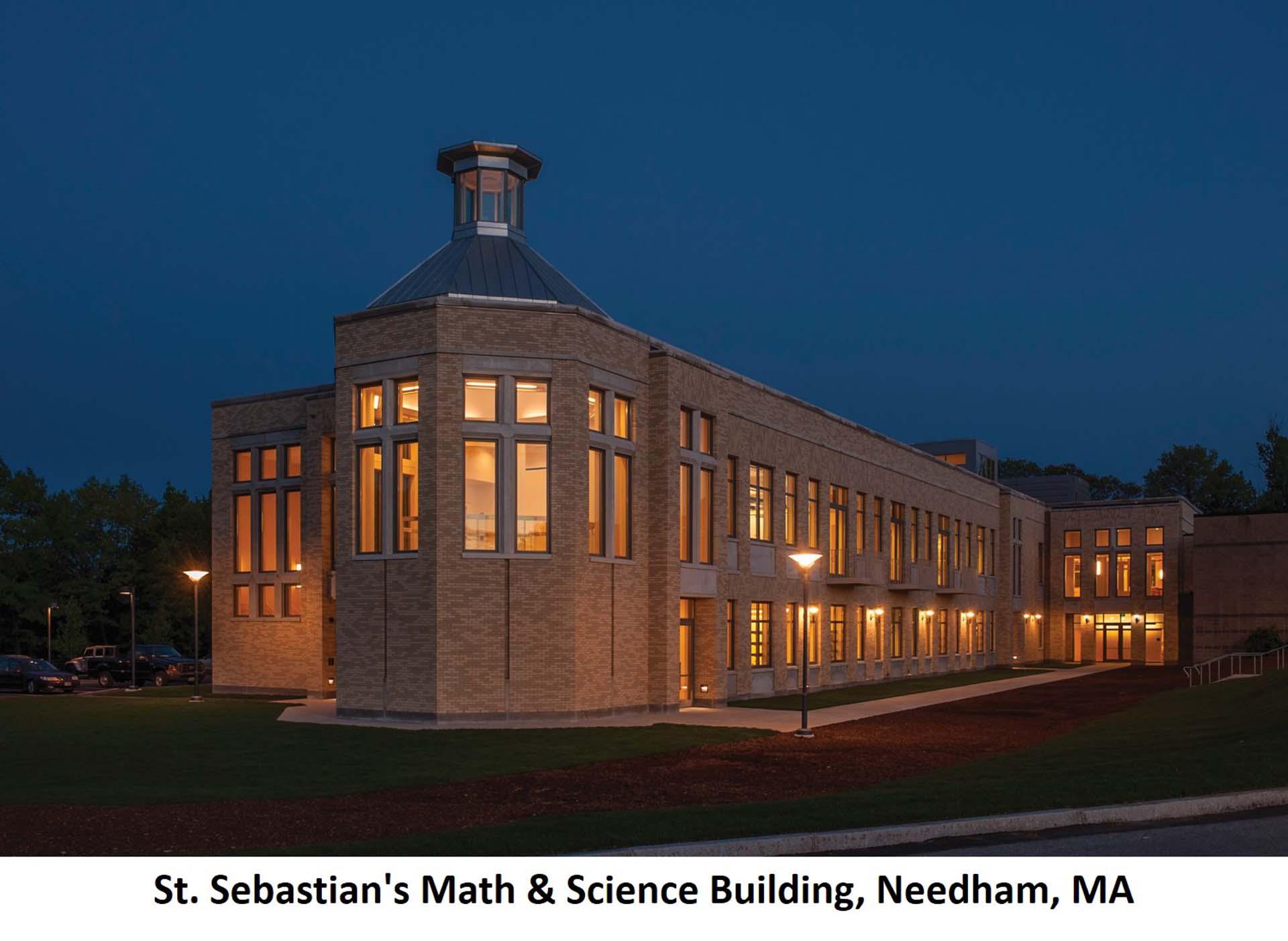St. Sebastians Math Science Building Needham MA