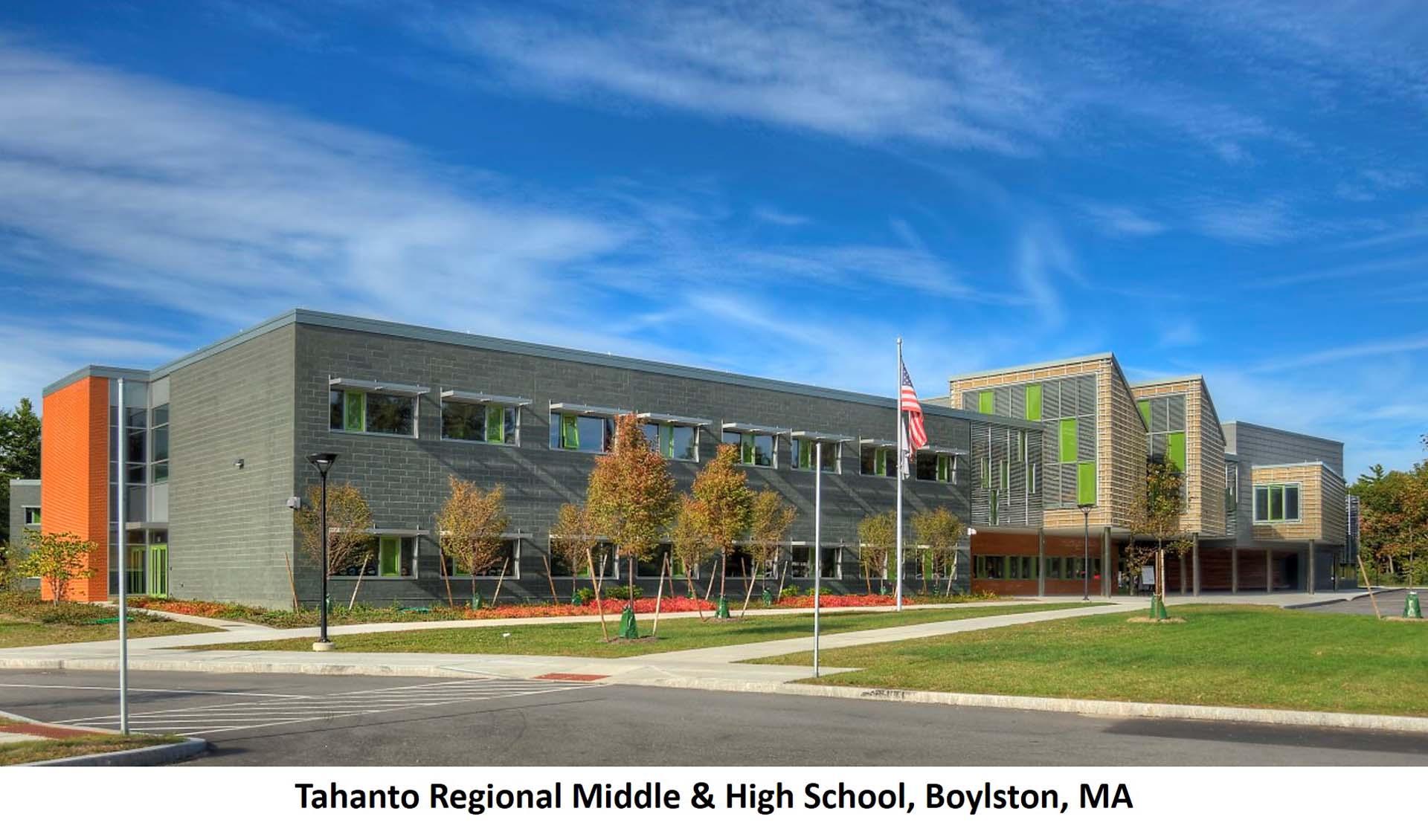 Tahanto Regional Middle High School Boylston MA