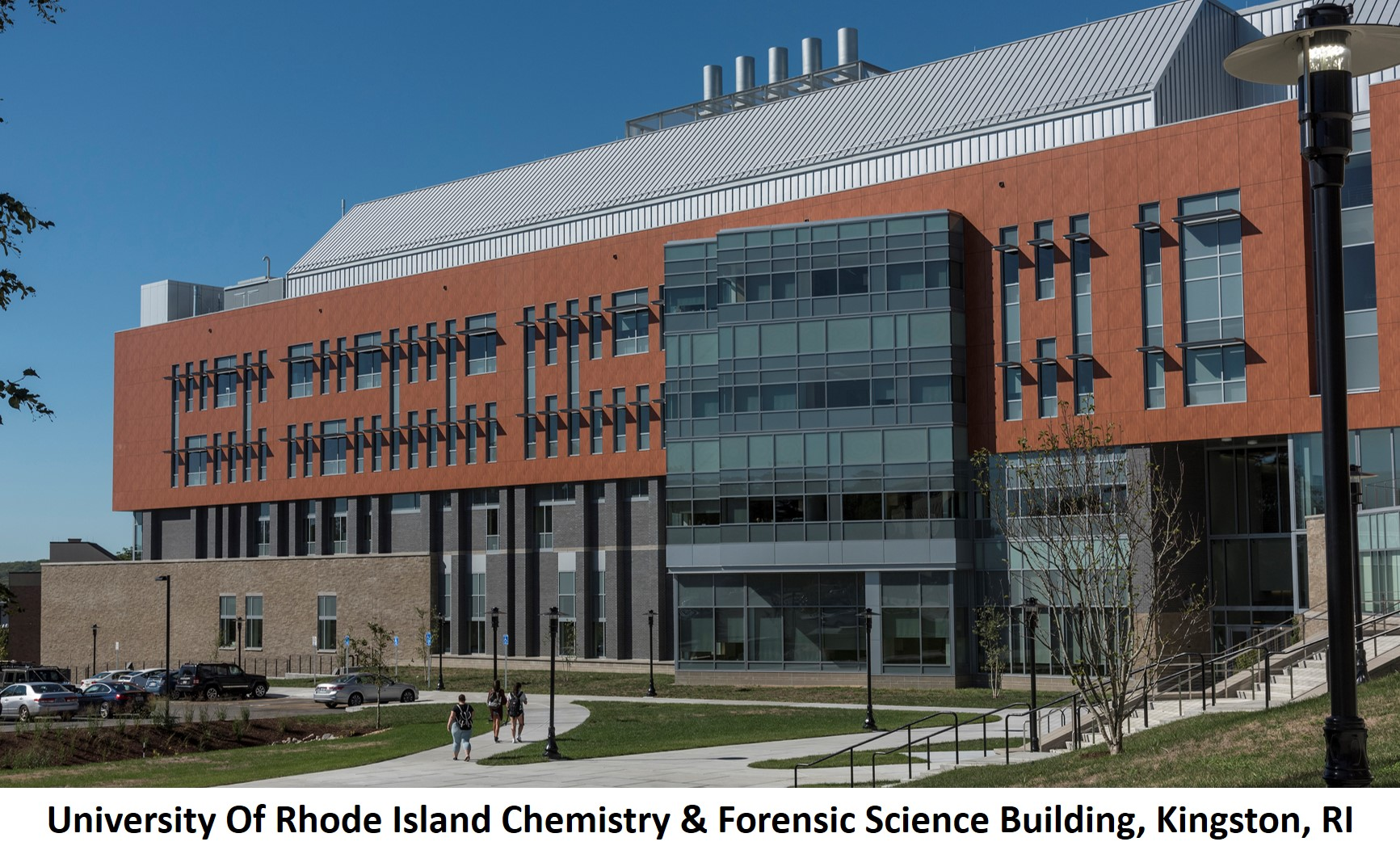 University Of Rhode Island Chemistry Forensic Science Building Kingston RI