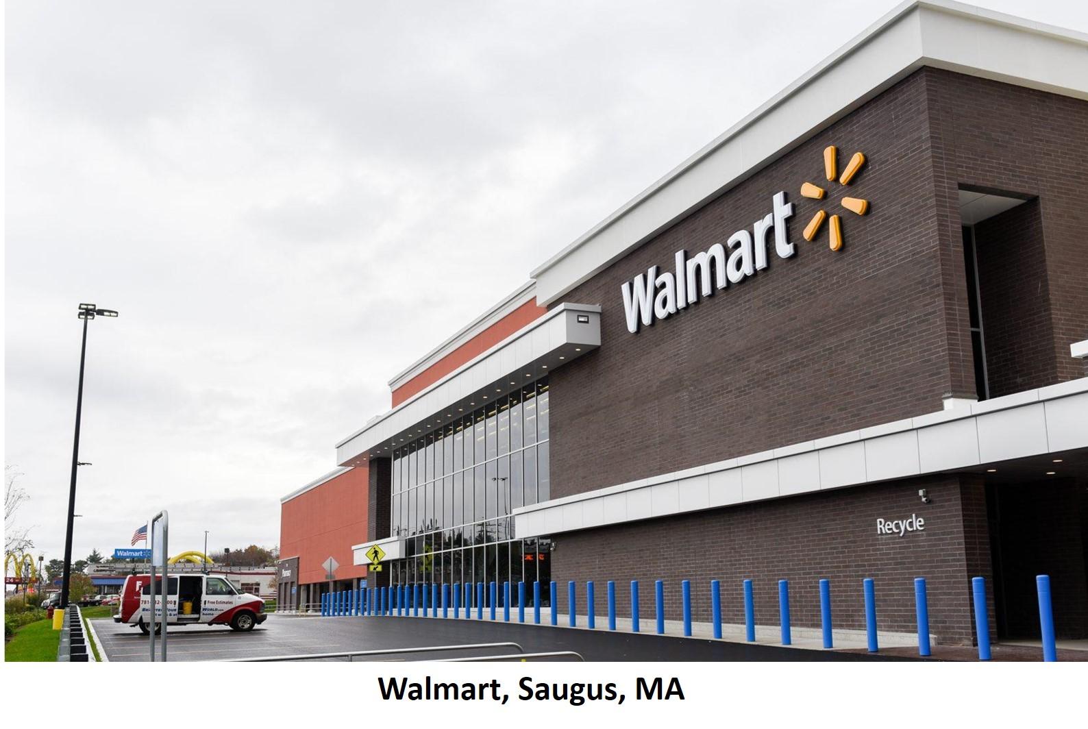 Walmart Saugus MA