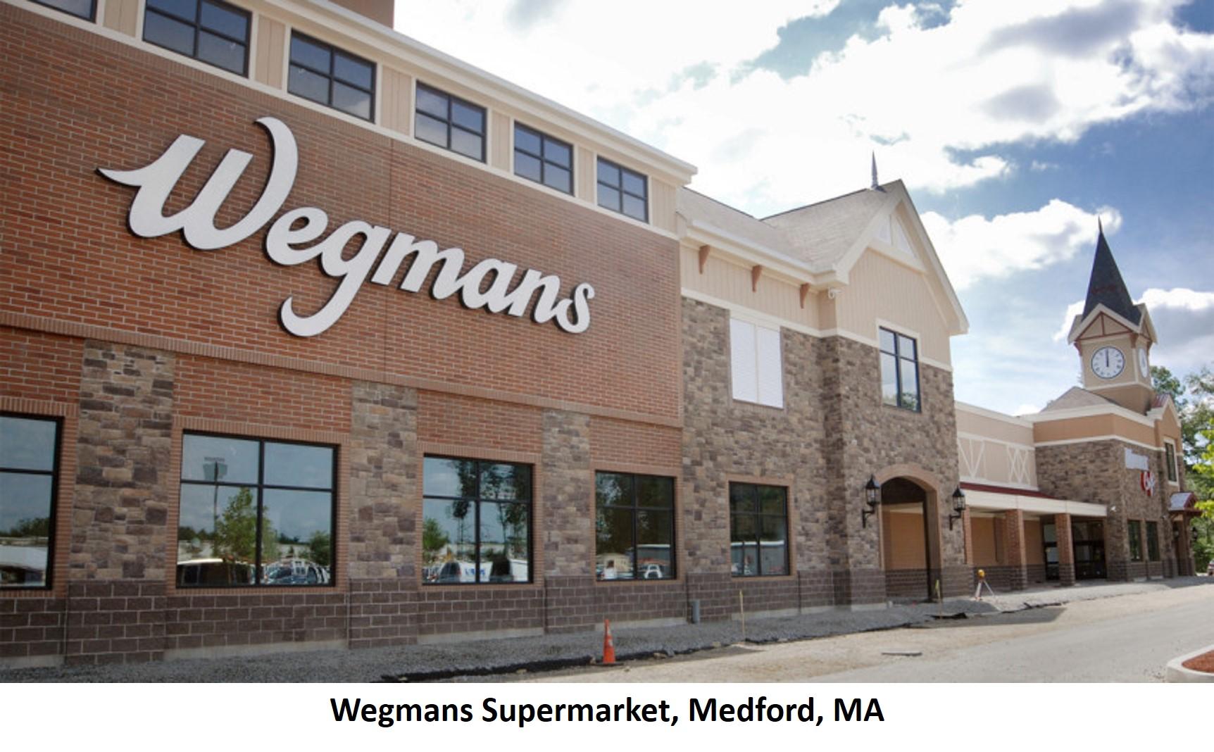 Wegmans Supermarket Medford MA