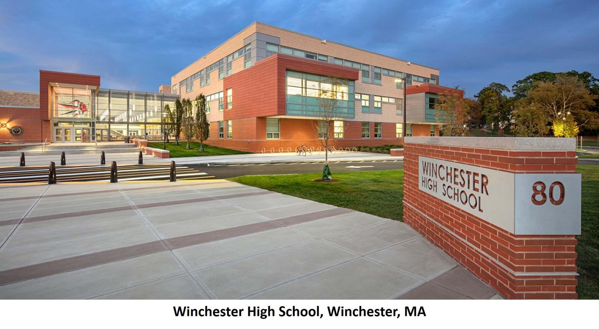 Winchester High School Winchester MA